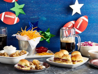Giada's Sports Bar Classics at Home Opener for Food Network