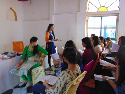 Workshop on Hair styling By Ms. Monika Shrimal