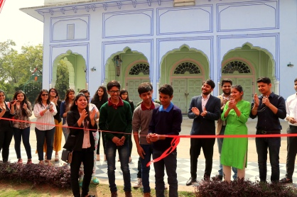 Inaugration by kids of Rays NGO